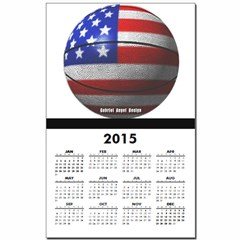 USA Basketball Calendar Print