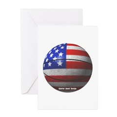 USA Basketball Greeting Cards (Pk of 10)