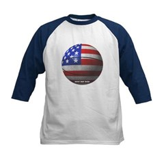 USA Basketball Kids Baseball Jersey T-Shirt