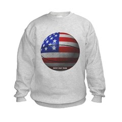 USA Basketball Kids Crewneck Sweatshirt by Hanes