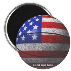 USA Basketball Magnet