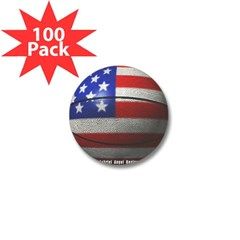 USA Basketball Mini Button (100 pack)