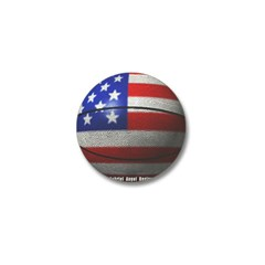 USA Basketball Mini Button
