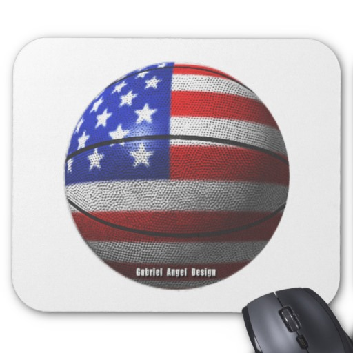 USA Basketball Mousepad