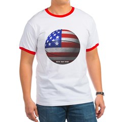 USA Basketball Ringer T-Shirt