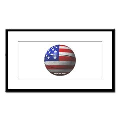 USA Basketball Small Framed Print