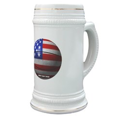USA Basketball Stein