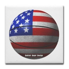 USA Basketball Tile Coaster