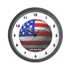 USA Basketball Wall Clock