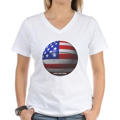 USA Basketball Women's V-Neck T-Shirt