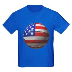 USA Basketball Youth Dark T-Shirt by Hanes