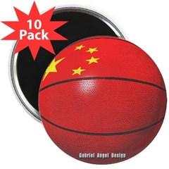 "China Basketball 2.25"" Magnet (10 pack)"