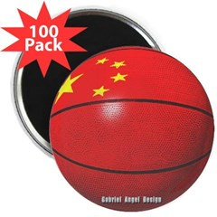 "China Basketball 2.25"" Magnet (100 pack)"