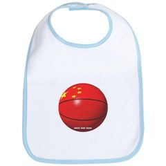 China Basketball Baby Bib