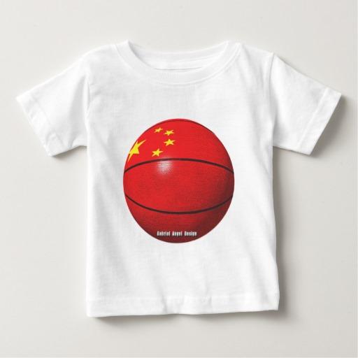 China Basketball Baby Fine Jersey T-Shirt