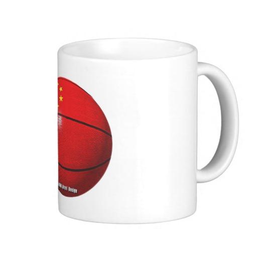 China Basketball Classic White Mug