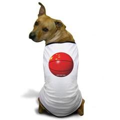 China Basketball Dog T-Shirt