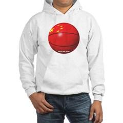China Basketball Hooded Sweatshirt