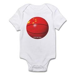 China Basketball Infant Bodysuit