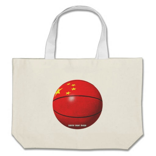 China Basketball Jumbo Tote