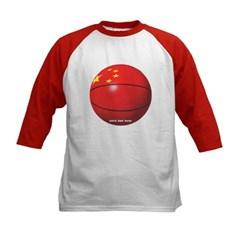 China Basketball Kids Baseball Jersey T-Shirt