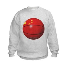 China Basketball Kids Crewneck Sweatshirt by Hanes