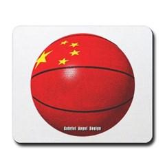 China Basketball Mousepad