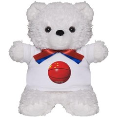 China Basketball Teddy Bear