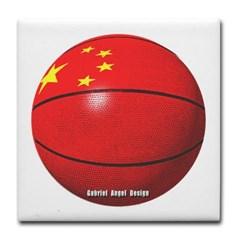 China Basketball Tile Coaster