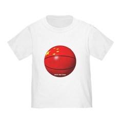 China Basketball Toddler T-Shirt