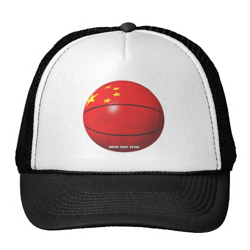 China Basketball Trucker Hat