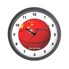 China Basketball Wall Clock