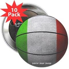 "Italian Basketball 2.25"" Button (10 pack)"