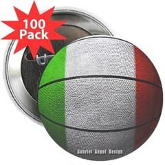 "Italian Basketball 2.25"" Button (100 pack)"