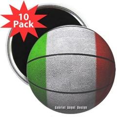 """Italian Basketball 2.25"""" Magnet (10 pack)"""