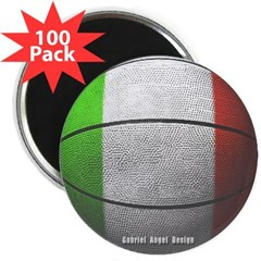 "Italian Basketball 2.25"" Magnet (100 pack)"