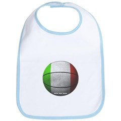 Italian Basketball Baby Bib