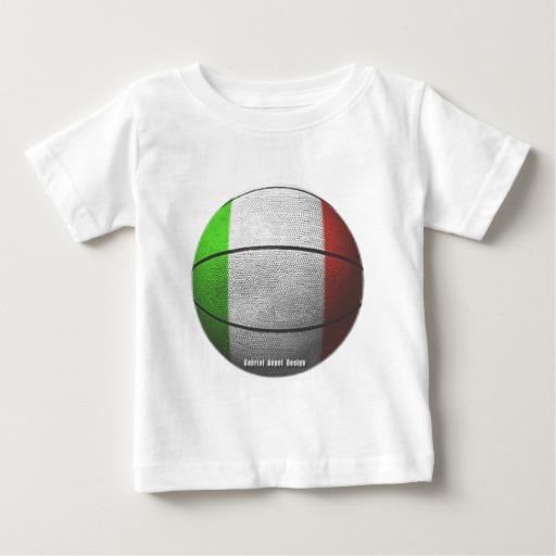 Italian Basketball Baby Fine Jersey T-Shirt
