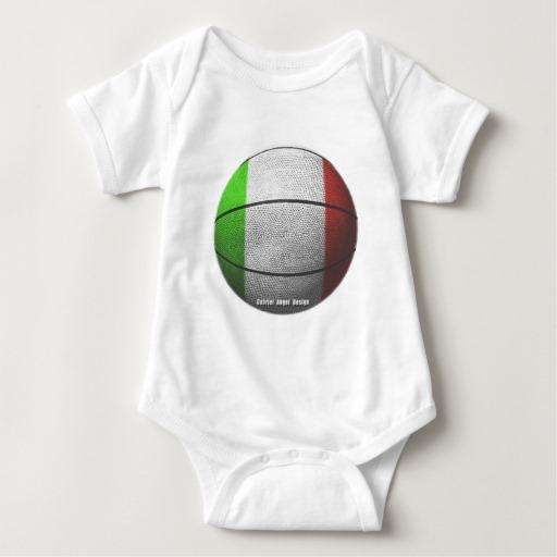 Italian Basketball Baby Jersey Bodysuit