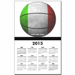 Italian Basketball Calendar Print