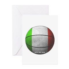 Italian Basketball Greeting Cards (Pk of 10)