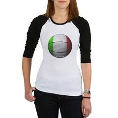 Italian Basketball Junior Raglan T-shirt