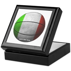 Italian Basketball Keepsake Box