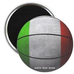 Italian Basketball Magnet
