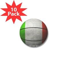 Italian Basketball Mini Button (10 pack)