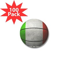 Italian Basketball Mini Button (100 pack)