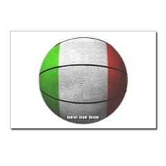 Italian Basketball Postcards (Package of 8)