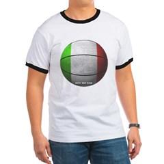 Italian Basketball Ringer T-Shirt