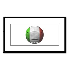 Italian Basketball Small Framed Print