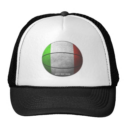 Italian Basketball Trucker Hat